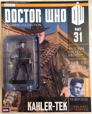 Eaglemoss Dr Who FIGURINA RACCOLTA numero 31 KAHLER-Tek