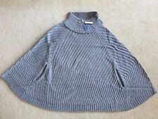 BNWT Joules Ladies Grey 'Calvi' Poncho - Size S/M - RRP £79.95