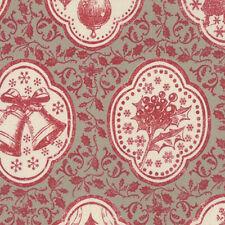 French General Joyeux Noel Christmas Atelier du Pere Fabric Roche Rouge 13710-15