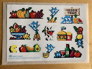 VEGGIETOWN stickers Space Invader