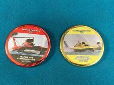 Seafair Boat Club'S 2019 & 2020 Race Team Commemorative Hydroplane Button Pins