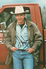HARRISON FORD Signed 12x8 Picture INDIANA JONES & STAR WARS COA