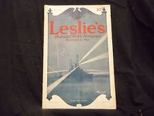 1914 JULY 9 LESLIE'S WEEKLY MAGAZINE - COCA COLA BACK COVER - ST 1283