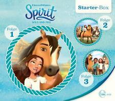 Spirit: wild und frei - Starter-Box (Folge 1-3) - Hörspiel - CD - *NEU*