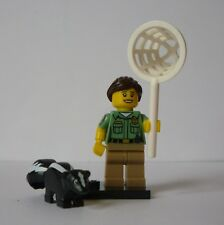 LEGO SERIES 15 MINIFIGURE - ANIMAL CONTROL OFFICER