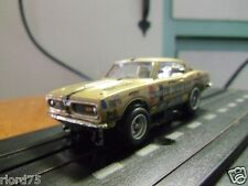 """Hemi Under Glass"" Bob Riggles 67 Barracuda Custom Drag HO Slot Car 4 Gear"