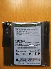 "120Gb 1.8"" ZIF TOSHIBA MK1231GAL IPOD & ZUNE HARD DRIVE"