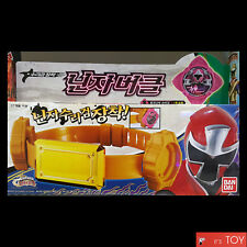Power Rangers NinNinger Ninnin Buckle Shuriken Sentai Ninja force Bandai Korea