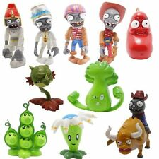 Plants vs Zombies 2 Egypt Private Wild West PVC 10pcs Toy Action Figures Set NEW