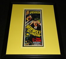 Werewolf of London Framed 11x14 Poster Display Official Repro Henry Hull
