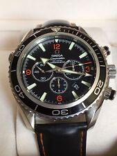 OMEGA SEAMASTER PLANET OCEAN AUTOMATIC CHRONOGRAPH WATCH  BOX & PAPERS 29105182