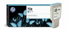 Genuine Original  HP728 Cyan 300ML F9K17A  Printer Ink Cartridge - Vat Inc
