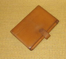 Pocket Franklin Coveyquest Brown Leather 5 Rings Open Plannerbinder