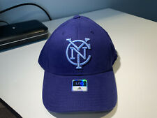 3c22ebf8910 New York City FC MLS Men s Adidas Basic Structured Flex Cap