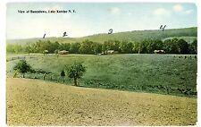 Lake Katrine NY - VIEW OF BUNGALOWS - Postcard near Kingston