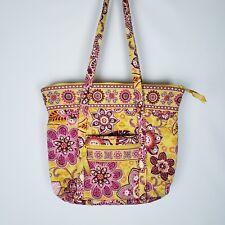 Vera Bradley Bali Gold 2009  Womens Large Tote Bag Floral Pattern