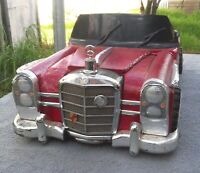 Mercedes Benz 280-SE Liquor Caddy... (Custom Hand Made Portable Mini Bar) 1 Of 1