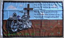 A Bikers Prayer Flag  Motorcycle Biker Flag Banner