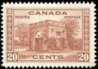1938 Mint H Canada F-VF Scott #243 20c Pictorial Issue Stamp