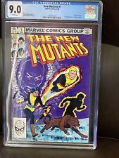NEW MUTANTS #1  CGC 9.0 WP NM+  Marvel Comics 1983  Origin Karma  (X-Men)