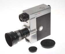 Nizo FA3 con Variogon 9-30mm F:1.8 stupenda cinepresa a molla 8mm anni 60
