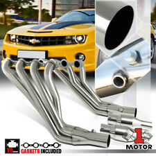 Stainless Steel Long Tube Exhaust Header Manifold for 10-15 Chevy Camaro LS3 6.2