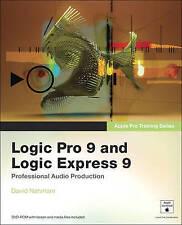 Apple Pro Training Series: Logic Pro 9 and Logic Express 9-ExLibrary