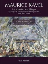 Introduction and Allegro by Maurice Ravel -- Harp Ensemble Sheet Music