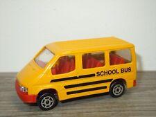 Ford Transit Schoolbus - Majorette 243 France 1:60 *34092