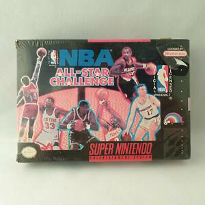 Super Nintendo SNES - NBA All-Star Challenge NTSC NEW SEALED