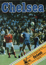 1980/81 Chelsea v Leyton Orient, Division 2, PERFECT CONDITION