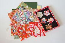 50 Bl. 6×6cm Japanisches Origami Faltpapier und 20 kleine Origami Aufklebern
