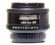 SMC Pentax FA 50mm f/1.4 Full Frame autofocus Lens Pentax K-1 Digital and Film