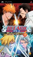 Used PSP Bleach heat the soul 6  SONY PLAYSTATION JAPAN IMPORT