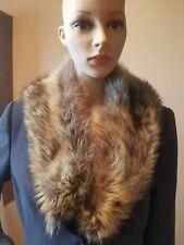 GENUINE Racoon scarf, wrap, boa, shaw full fluffy pretty #8