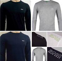 Hugo Boss Polo Mens Crew Neck Long Sleeve T-shirt size S M L XL XXL.