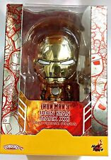 Hot Toys Iron Man 3 Mark XXI Gold Chrome Exclusive Cosbaby COSB284 - Brand New