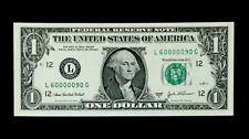 2003A $1 SUPER FANCY SER# 60000090 - FLIPPER - SUPERB GEM NEW - WELL CENTER