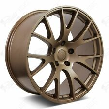 """20"""" Hellcat Style Bronze Wheels Fits Dodge Charger Challenger Magnum"""