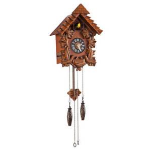 Traditional Wooden Cuckoo Clock
