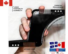 Guide Rasage Barbe Homme / Men shaving Double-side Beard Shaping Template