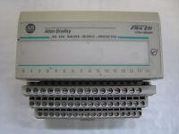 Allen Bradley Flex I/O 1794-OB16 Digital Output Module w/ 1794-TB3 Terminal Base