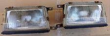 Toyota Tercel AL25 Wagon 4WD 1982 1986 Headlights Pair Left Right used