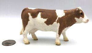 Schleich SIMMENTAL COW Female 2015 Farm Figure Brown & White 13801