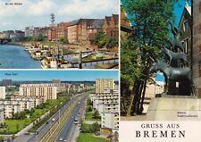 Gruss aus Bremen , Ansichtskarte , 1972 gelaufen