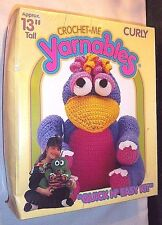 "Crochet Kid Craft New Yarnables Curly Bird Sealed Kit 13"" 2607 Spinrite Yarn"