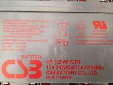 Batteria Ricaricabile 12V Piombo 9Ah CSB HR 1234