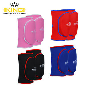 Knee Caps Pads Protector Brace Support Guard MMA Padded Gym Elasticated Guards.