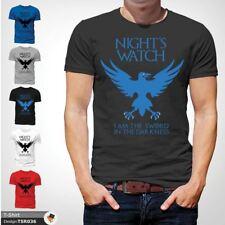 Night's Watch Game Of Thrones T-Shirt Jon John Snow Sword in the darkness D