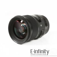 NEW Sigma Art Series 50mm f/1.4 DG HSM Lens for Canon EF